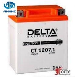 Мото Аккумулятор Delta CT 1207.1