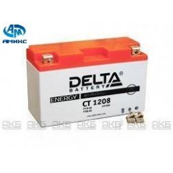 Мото Аккумулятор Delta CT 1208