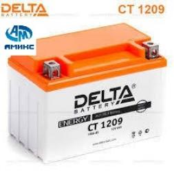 Мото Аккумулятор Delta CT 1209