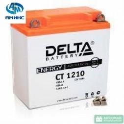 Мото аккумулятор Delta CT 1210