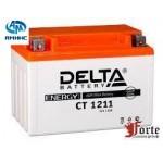 Мото Аккумулятор Delta CT1211