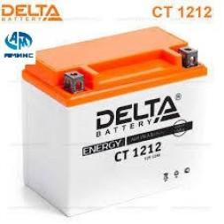 Мото Аккумулятор Delta CT1212