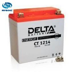 Мото аккумулятор Delta CT 1214 (YTX14-BS)