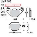 Колодки тормозные AP-LMP186 OR...