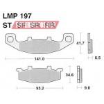 Колодки тормозные AP-LMP197 SR...
