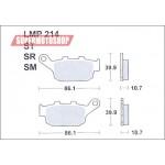 Колодки тормозные AP-LMP214 SR...