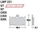 Колодки тормозные AP-LMP231 SF...