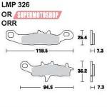 Колодки тормозные AP-LMP326 OR...