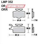 Колодки тормозные AP-LMP352 OR...