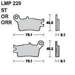 Колодки тормозные AP-LMP229 OR...